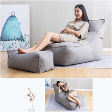 Load image into Gallery viewer, Lazy Cotton Linen Bean Bag
