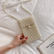 Load image into Gallery viewer, Hand-woven Pearl Bags