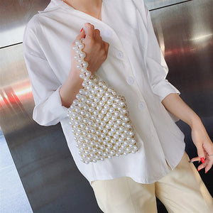 Hand-woven Pearl Bags