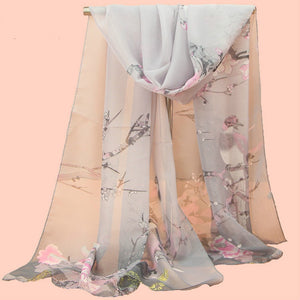 Fashion Women Stole  Printed Soft Scarf