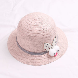 Travel student visor beach hat two-piece