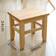 Load image into Gallery viewer, Multi-Function Solid Wood Shoe Bench Stool
