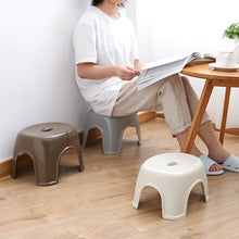Load image into Gallery viewer, Household simple thick plastic stool