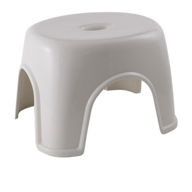 Household simple thick plastic stool