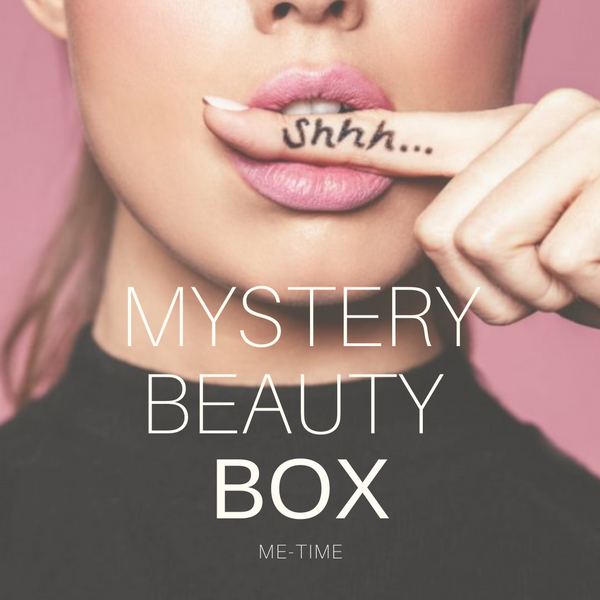MYSTERY BEAUTY BOX - ME-TIME (twv 50,-)