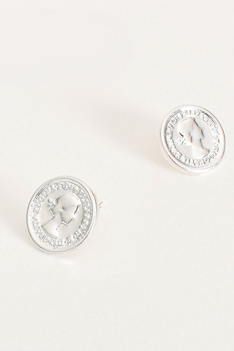 Coin Clip On Earrings