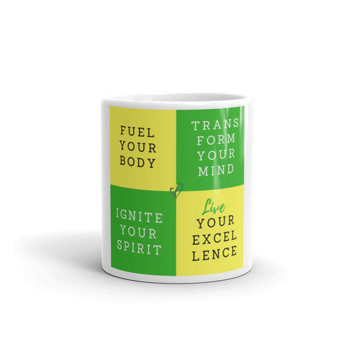 Fuel, Transform, Ignite LIVE Mug