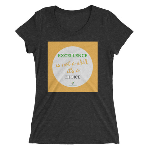 It's a Choice Ladies' short sleeve t-shirt