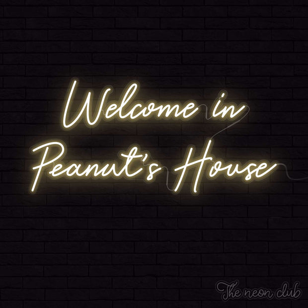 Welcome in Peanut's House