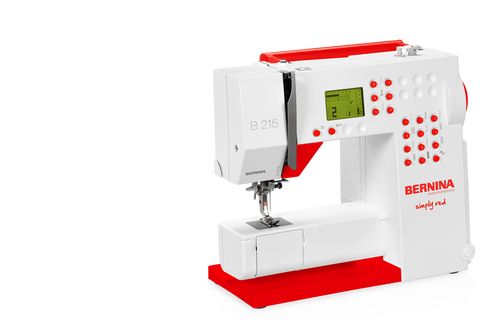 Bernina Simply Red 215