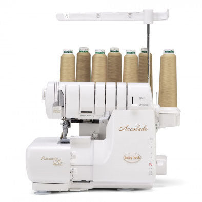 (B)Accolade, Baby Lock 8 Thread Serger