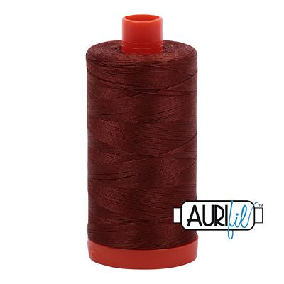 Aurifil 50 weight Cotton Thread, Copper Brown-4012