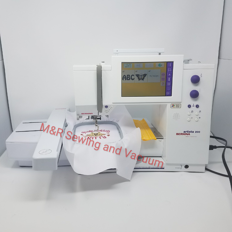 Used Bernina 200 Sewing and Embroidery Machine