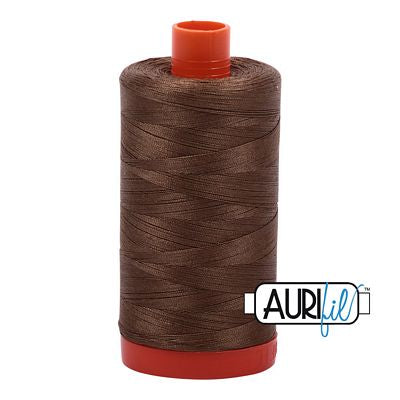 Aurifil 50 weight Cotton Thread, Dk Sandstone-1318