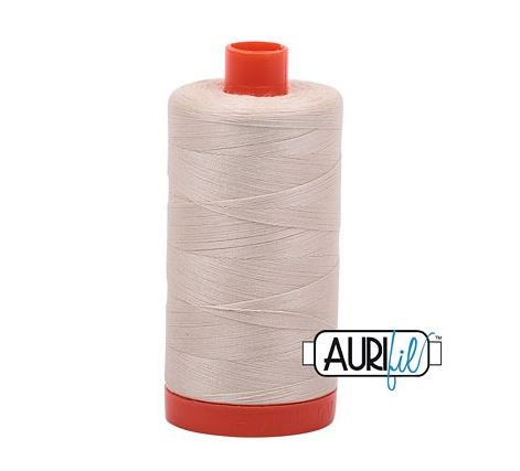 Aurifil 50 weight Cotton Thread, Light Beige - 2310