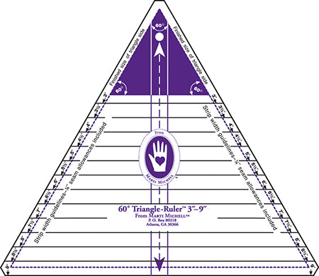 60 Degree Triangle Ruler