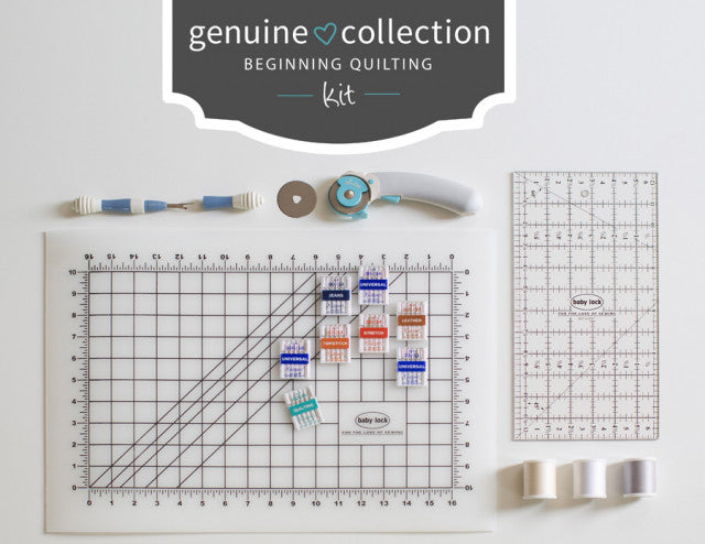 Genuine Collection Quilting Kit, Baby Lock
