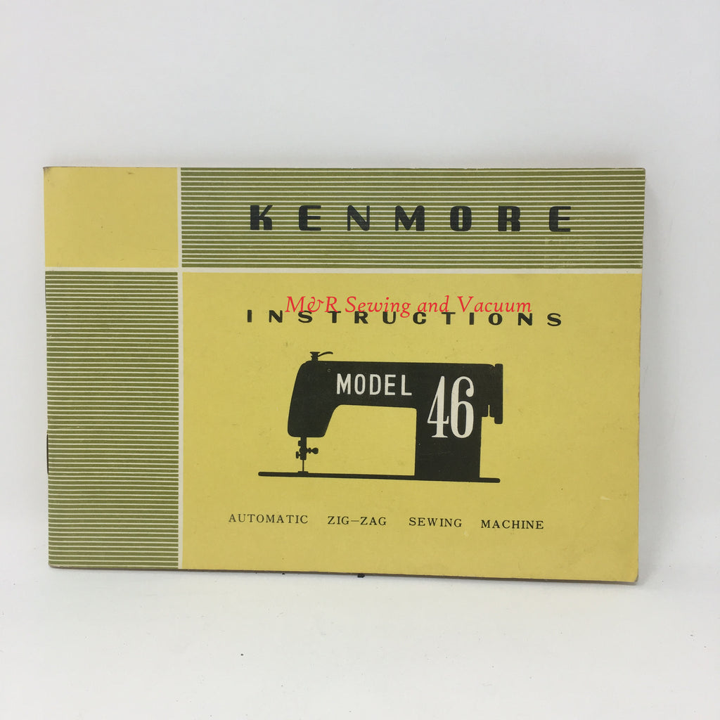 Sears Kenmore Model 46 Manual