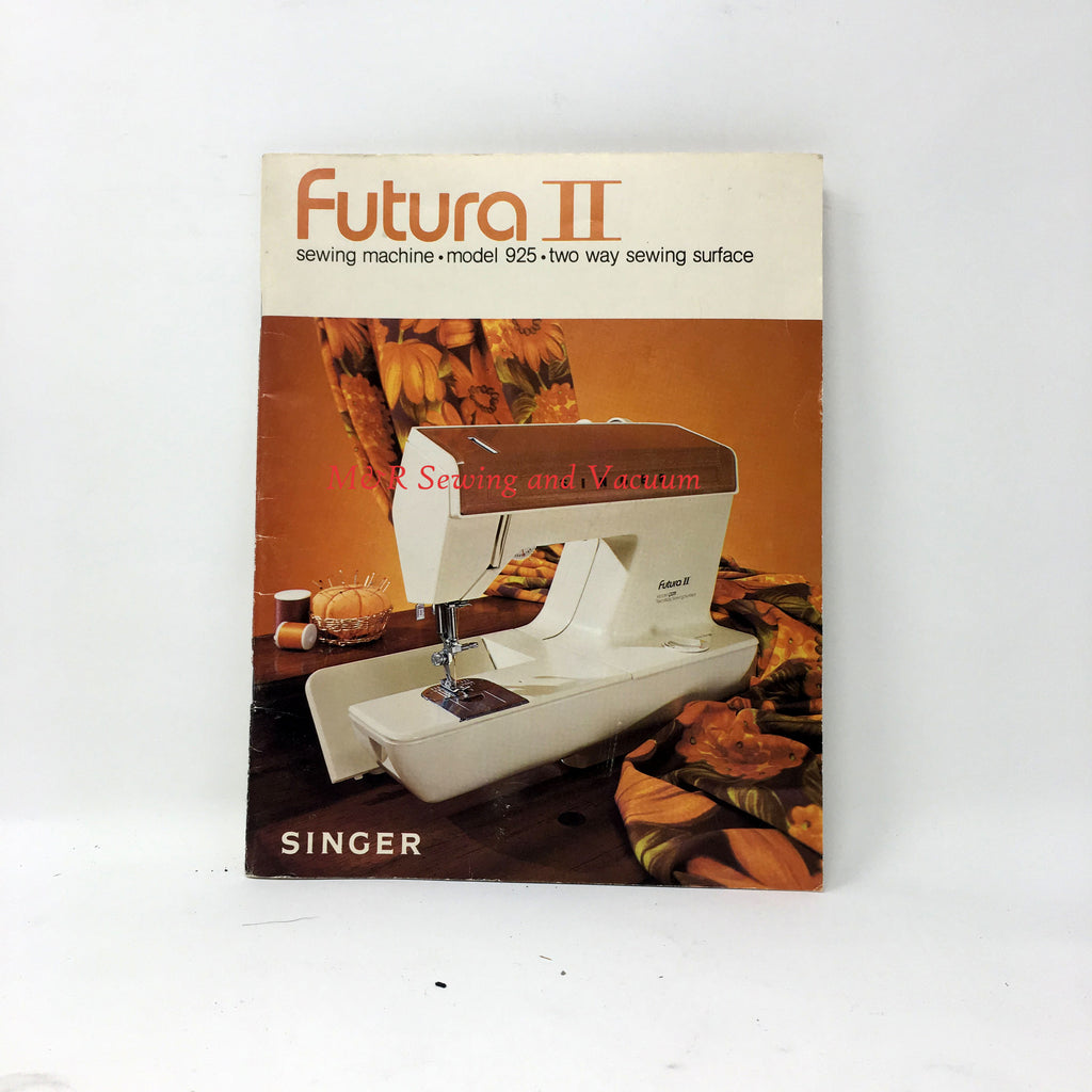 Singer Futura II 925 Manual