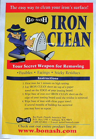Bo Nash Ironside Iron Clean