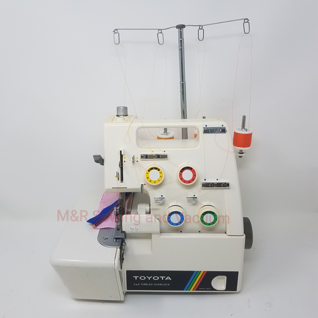 Used Toyota 6600 4 Thread Serger