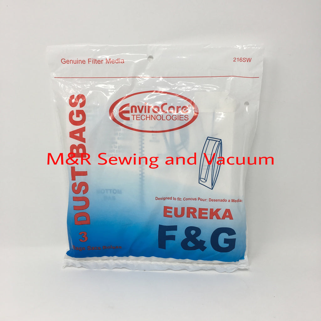 Eureka Type F & G Bag