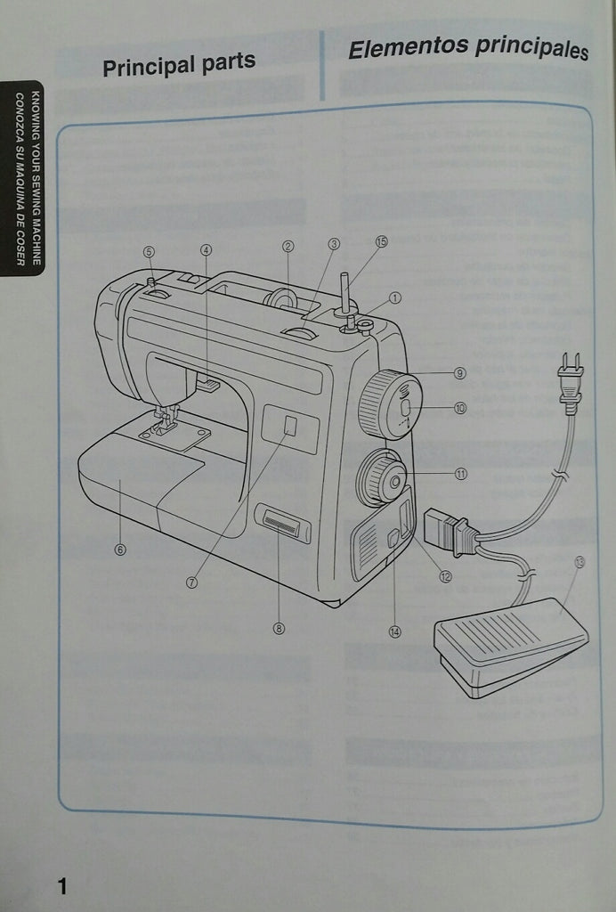 Brother XL-3010 Instruction Book