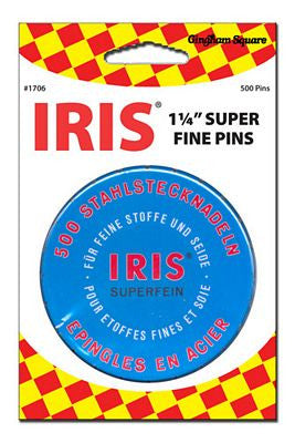 BlueTin Iris Swiss Pins
