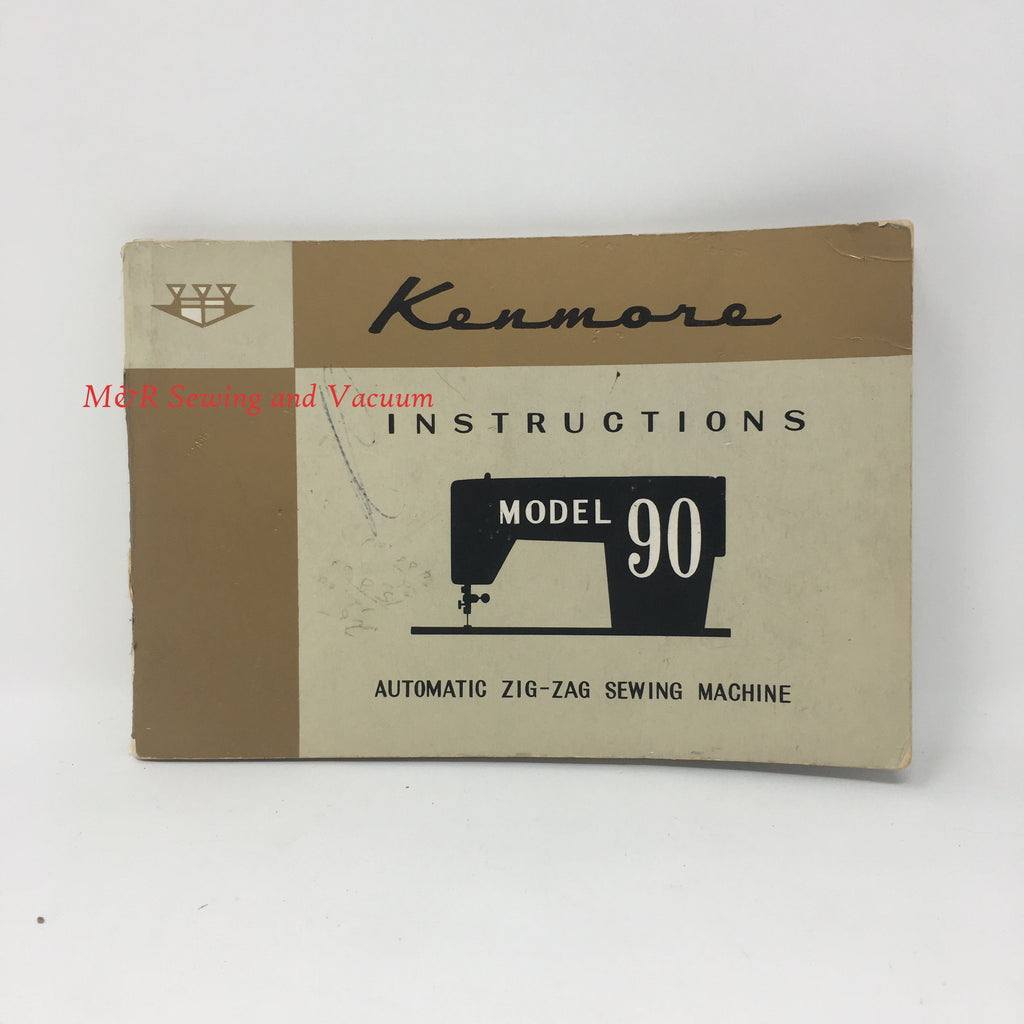 Sears Kenmore Model 90 Manual