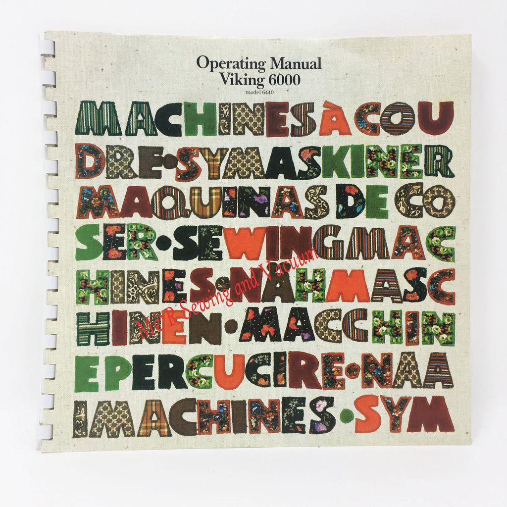 Operating Manual Viking 6440