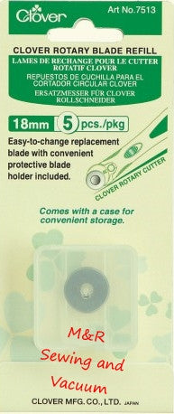 18mm Replacement Blade, 5/Pk