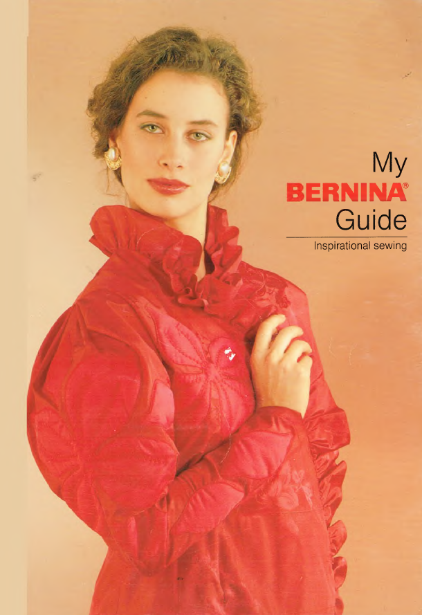 Inspirational Sewing Guide, Bernina 1230