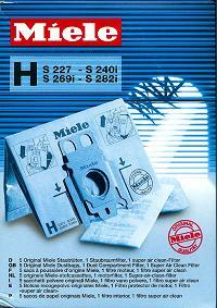 Miele Type H Replacement Bags
