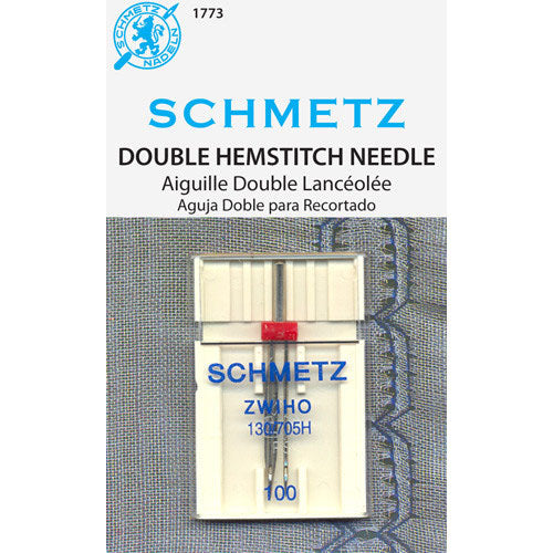 Schmetz Double Wing - Hemstitch Needle - 2.5/100