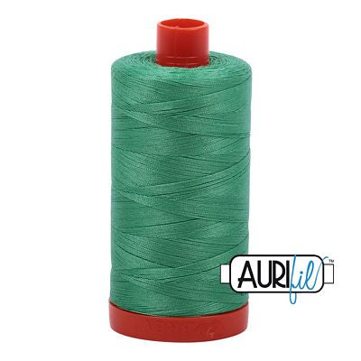 Aurifil 50 weight Cotton Thread, Lt Emerald-2860