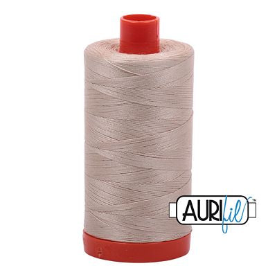 Aurifil 50 weight Cotton Thread, Ermine- 2312