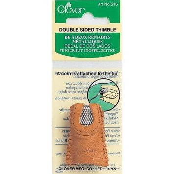 Double Sided Metal Thimble