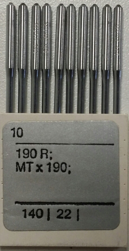 MUVA Industrial MTx190 (190R) Needles, 10/Pk,[900]