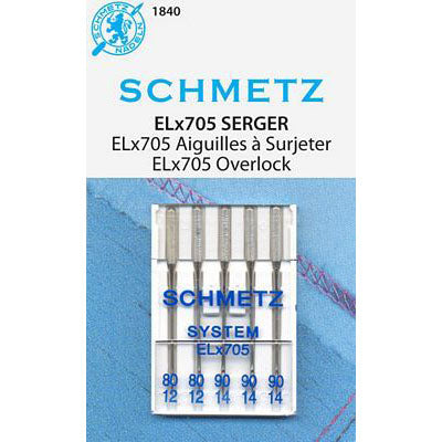 Schmetz ELx705 Multi-Pack - 80/12 and 90/14