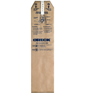 Oreck Magnesium Upright Paper Bag