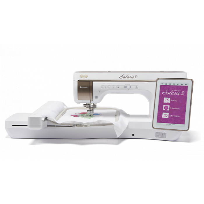 (A) Baby Lock Solaris 2 Sewing and Embroidery Machine