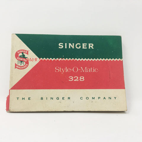 Singer Style-O-Matic 328 Manual