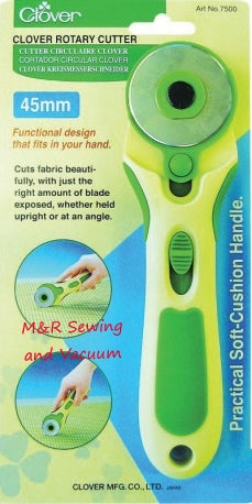 45mm Clover Softgrip Rotary Cutter