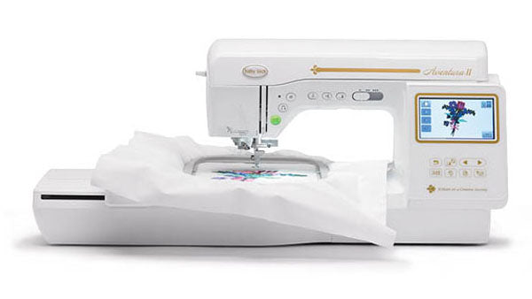 (E)Aventura II Sewing and Embroidery Machine