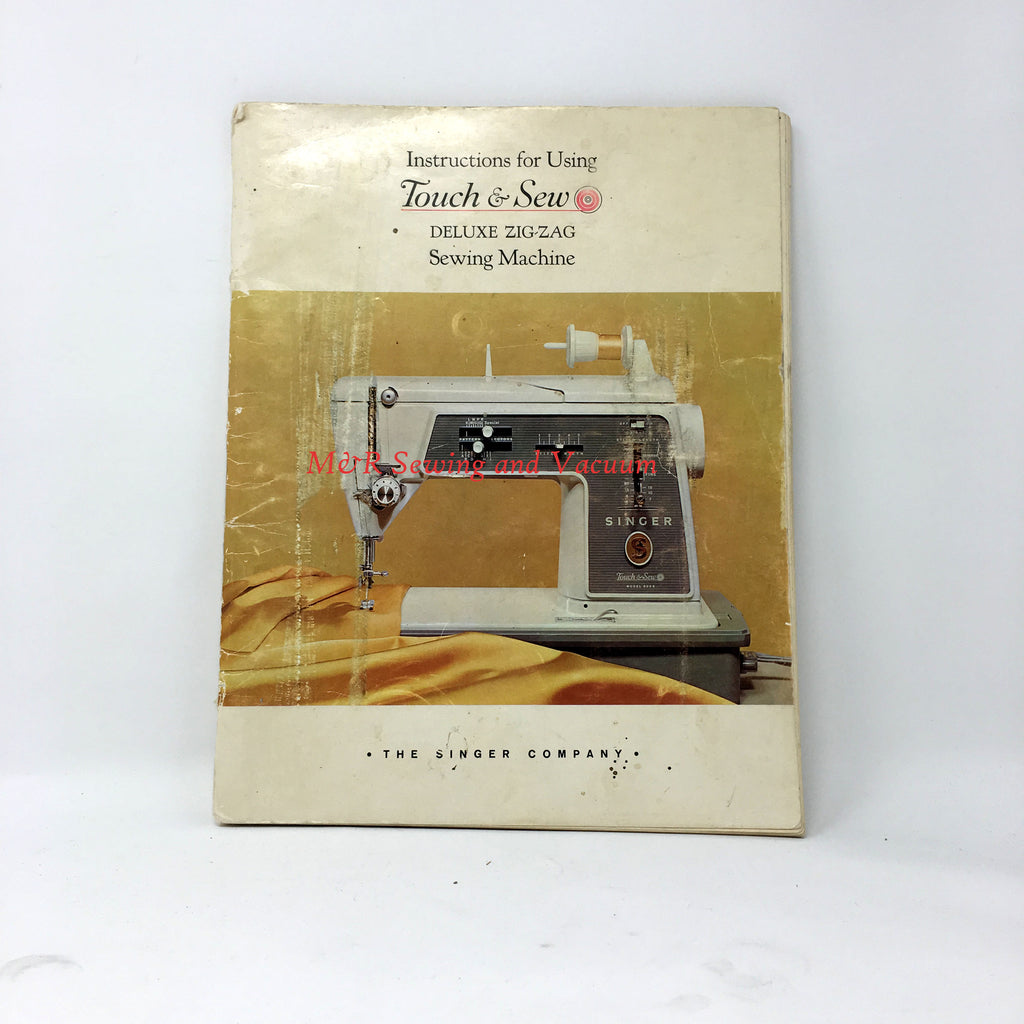 Singer Touch & Sew 600E Manual