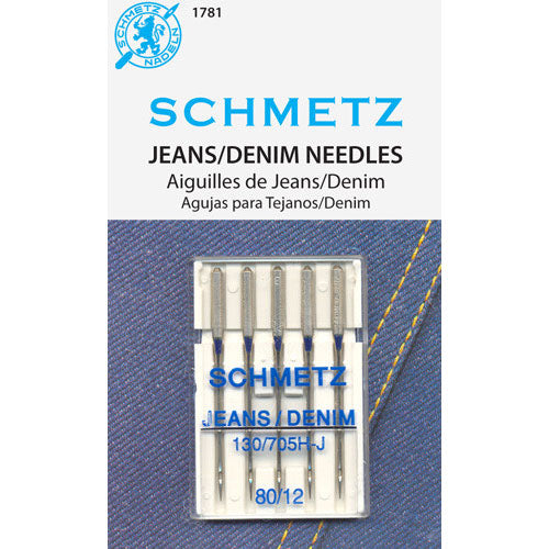 Schmetz Denim Needles - 80/12
