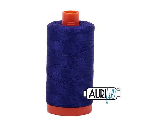 Aurifil 50 weight Cotton Thread, Blue Violet - 1200