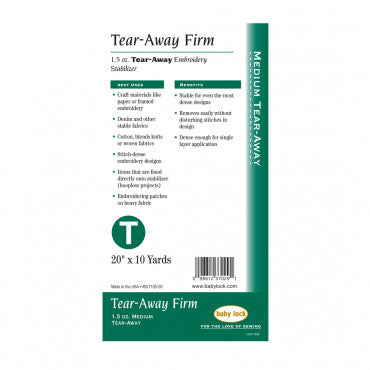 1.5 oz.Tear-Away Firm Stabilizer
