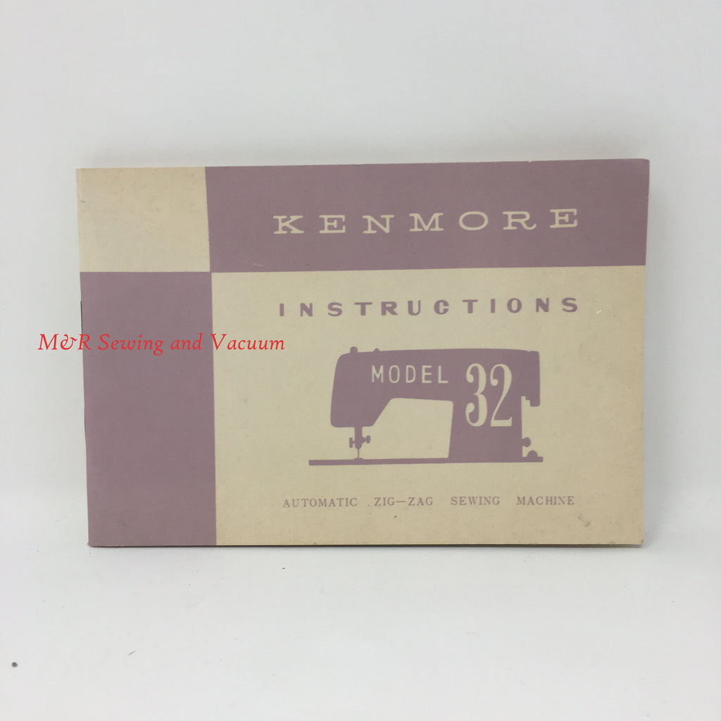 Sears Kenmore Model 32 Manual