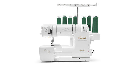 (A)Triumph 8 Thread Serger, Baby Lock